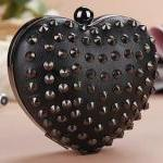 Stud Hedgehog Rivet Punk Heart Shap..