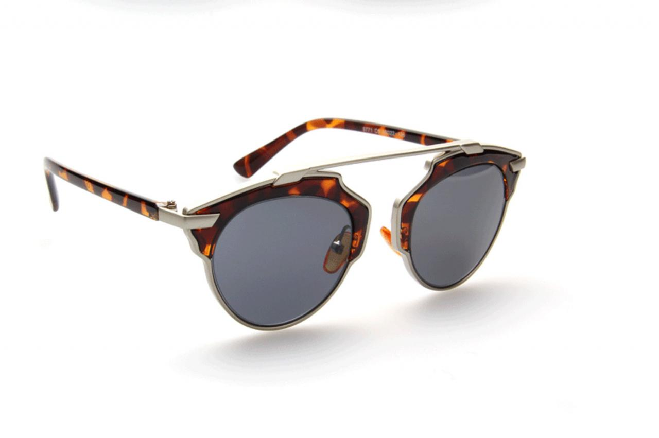 Milanblocks Beach Leopard Unique Design Fashion UVA Protection Sunglasses